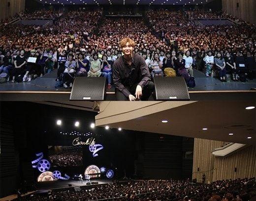 イ・ジョンソク 3日間の日本ファンミーティングが終了