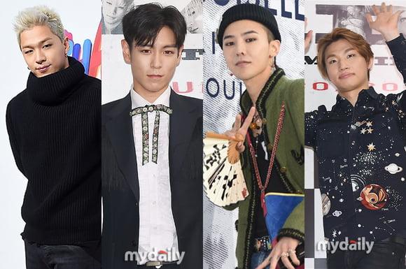 BIGBANG、YGと3度目の再契約を締結