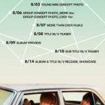 MXM、1stフルアルバム「MORE THAN EVER」スケジュール公開