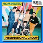 防弾少年団、イギリス最高の音楽授賞式「2021 ブリット・アワード」にノミネート!韓国歌手として初の快挙
