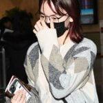 IZ*ONE宮脇咲良 日本スケジュールを終えて韓国へ…笑顔見せる