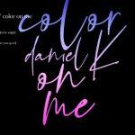 Wanna One出身カン・ダニエル、ソロデビューアルバム「color on me」トラックリストを公開