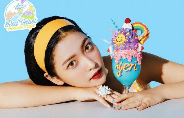 Red Velvet  ニューアルバム「Summer Magic」予告イメージ公開