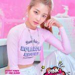 元AKB48 高橋朱里新人ガールズグループRocket Punch、デビューアルバム「PINK PUNCH」予告イメージを公開