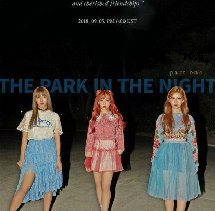 日中韓の7人組ガールズグループ「公園少女(GWSN)」  デビューコンセプト写真を公開
