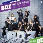 TWICE 日本1stアルバム「BDZ」ジャケット写真を公開!