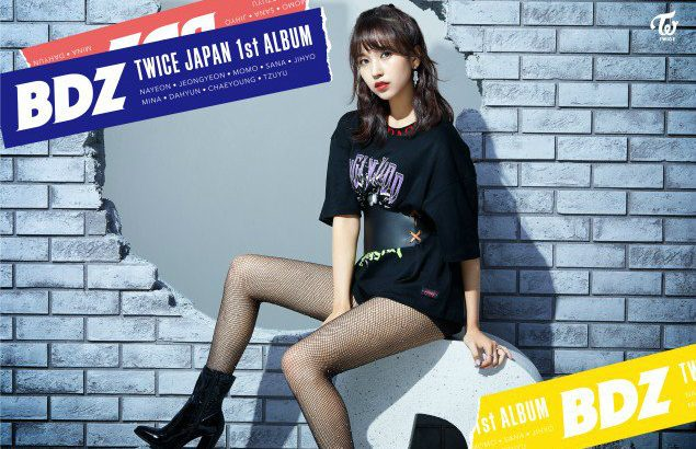 TWICE 日本1stアルバム「BDZ」予告イメージ公開