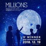 19日のカムバックするWINNER 新曲のタイトルは「MILLIONS」